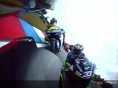 Re-live the Rossi-Gibernau duel in Brno with onboard footage
