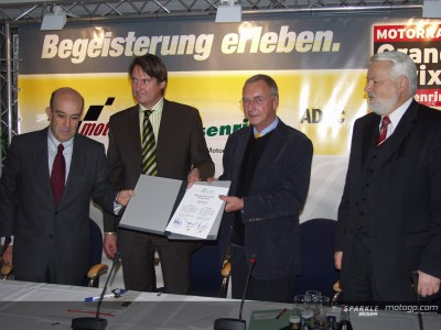 Deutscher GP wird bis 2011 auf dem Sachsenring bleiben