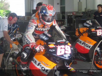Different approaches for Repsol Honda riders