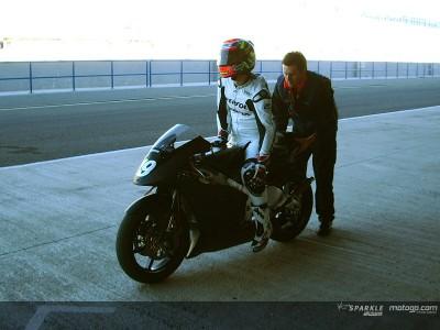 Porto se estrena en Jerez con el equipo HRC de Alberto Puig