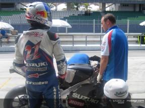 Suzuki duo happy after intense test