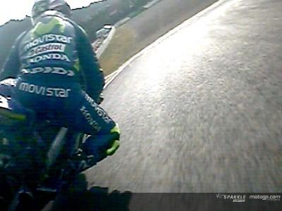 Rossi and Melandri clash in Japan