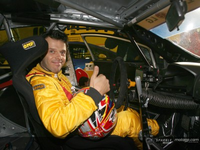 Capirossi stars on four wheels