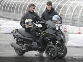 Italian duo test revolutionary new scooter