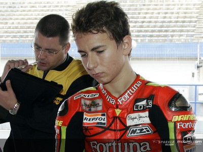 Lorenzo sofre lesão na clavícula em Valência