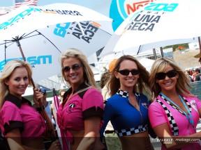 Die MotoGP Paddock Mädels