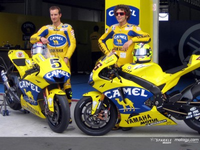 Yamaha Factory present their new look in Sepang
