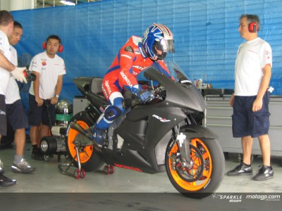 Pedrosa again shows his solidity on the RC211V