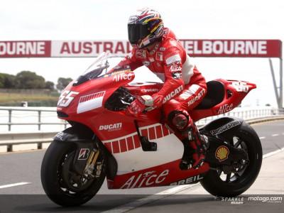 Australien wäscht die Testpläne der MotoGP Teams weg