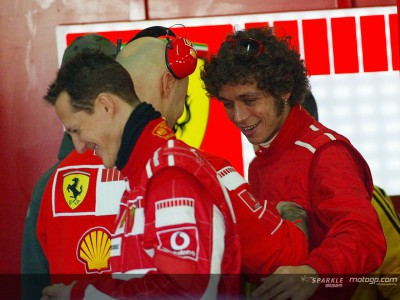 Rossi continues Ferrari testing in Valencia with fast lap