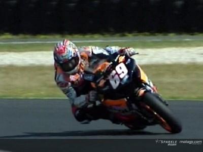 Nicky Hayden happy despite Phillip Island fall