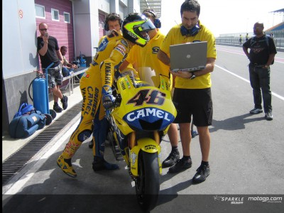 Camel Yamaha in voller Kraft in Losail