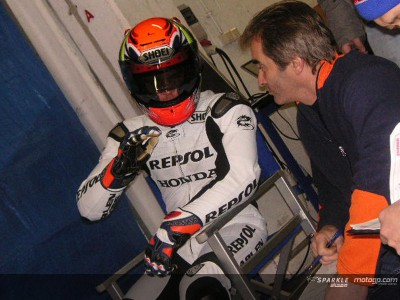 Valencia Test for Honda 250cc riders