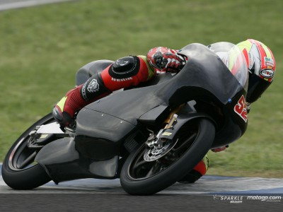 Pesek extols the virtues of the new Derbi