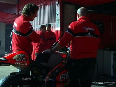 Estoril recibe a varios equipos de 125cc y 250cc