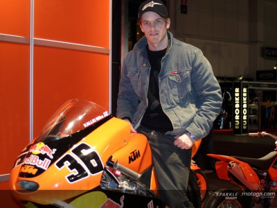 Mika Kallio anxious to ride the new KTM