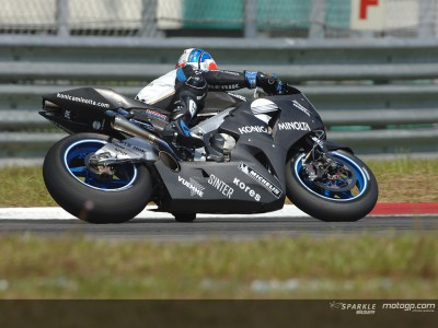 Rain again affects the Sepang Test