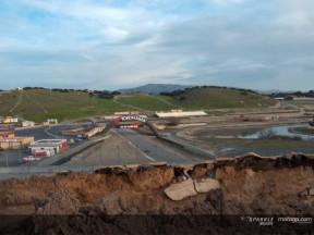 Arbeit an den Verbesserungen in Laguna Seca beginnt