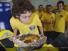 Rossi happy with Sepang Test