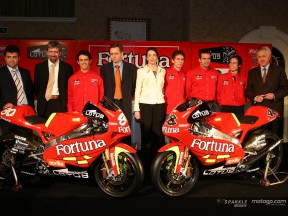 Das Fortuna Aprilia Team präsentiert seine Pläne für 2006