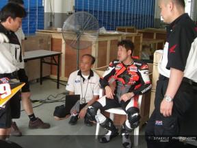 Okada  habla de la evolución de la nueva Honda  RC211V y de Pedrosa
