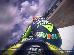 As largadas de Rossi