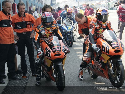 KTM: Present in three categories
