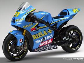Suzuki roule pour Rizla