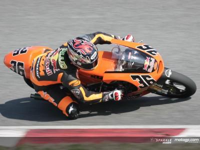 `Poleman´Kallio se anota el mejor tiempo del test de 125cc