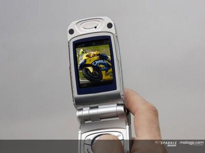Sevicio de alertas de vídeo, SMS y MMS de MotoGP