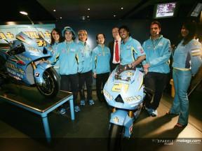 Rizla Suzuki MotoGP presented at Circuit de Catalunya