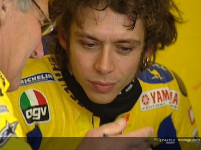 Rossi goes fastest as Checa impresses
