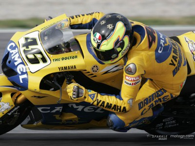 Rossi davanti a Checa e Nakano nella seconda giornata delle MotoGP