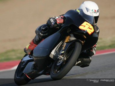 Pesek fastest on 125cc day one in Jerez