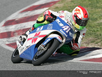 Espargaró, mejor piloto Honda en la apertura del test en Jerez