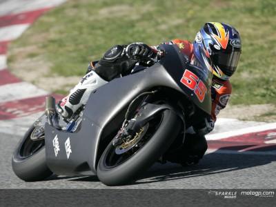 MotoGPオフィシャルテスト:250ccクラス‐FP1オフィシャルタイム