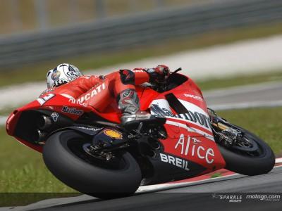 Test Jerez - 2ª jornada. Gibernau mantiene a Ducati en cabeza