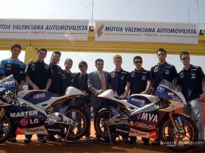 Aspar presents his 6 for 2006