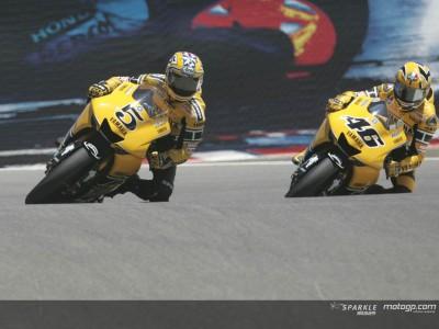 Yamaha's triple-title