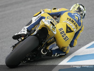 Rossi dalla seconda fila, non è piu The Doctor