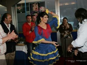 Flamenco Präsentation für Pramac D'Antin