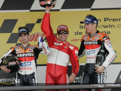 Capirossi takes victory ahead of Pedrosa in Jerez