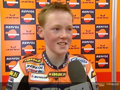 Bradley Smith has impressive 125cc debut