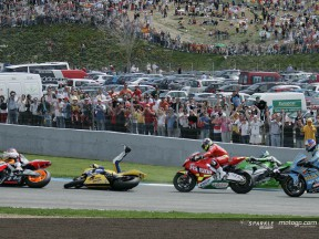 Rossi's run comes to an end