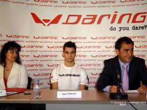Daring presenta su nueva colección con Dani Pedrosa