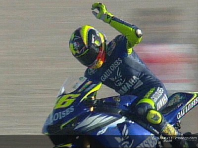 2005: Rossi adds Qatar feather to his cap