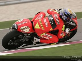 La pole è di Lorenzo, dietro di lui Barbera, Locatelli e De Angelis