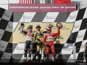 Torna a vincere Rossi, secondo Hayden e terzo Capirossi