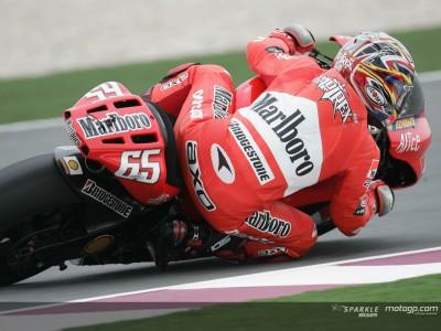 Ducati Marlboro salda con nota el examen del desierto