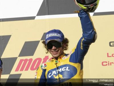 Rossi iguala el récord de victorias de Doohan